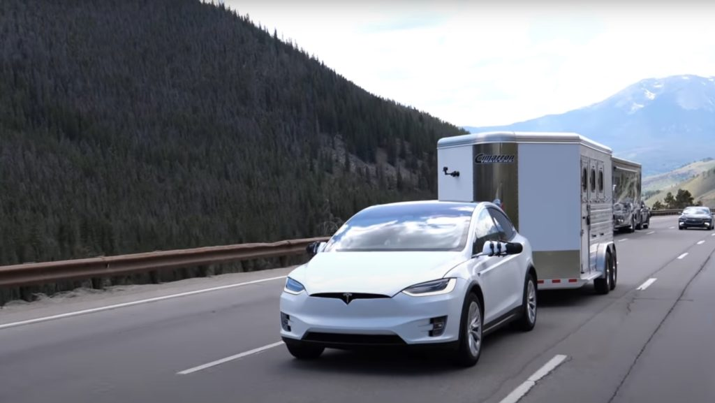 Tesla Model X towing — Midsize SUV tow ratings